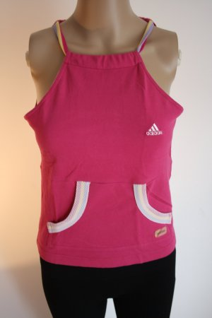 Adidas Halter Top pink cotton
