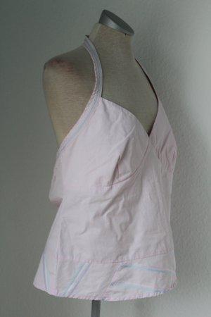 Neckholder Sommer Top rosa Debenhams Gr. UK 16 EUR 44 neu Rockabilly Baumwolle