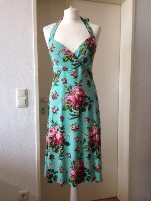 Neckholder Sommerkleid mit schönem Blumenprint von King Louie