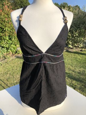 ONEILL Halter Top black cotton