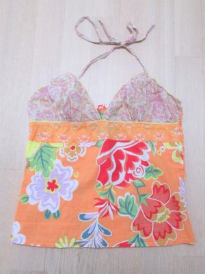 Neckholder#Top#Orange#Blossom