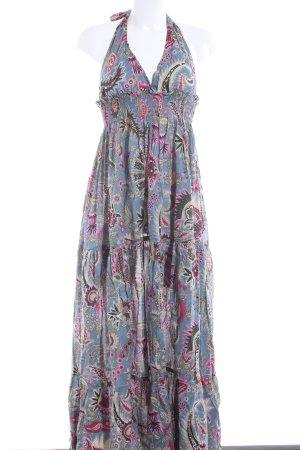 Halter Dress floral pattern Gypsy style