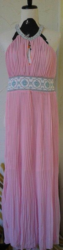 Neckholderkleid, Gr.36/38, rosa