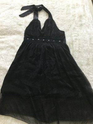 Halterjurk zwart