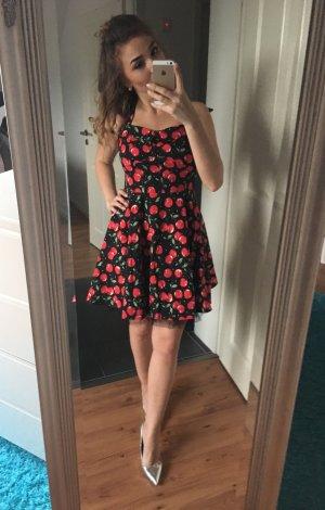 Neckholderkleid im Rockabilly Stil Petticoat dress von iska
