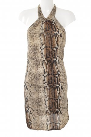 Halter Dress leopard pattern elegant