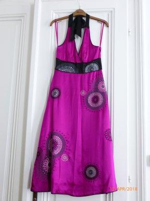Monsoon Vestido de cuello Halter multicolor