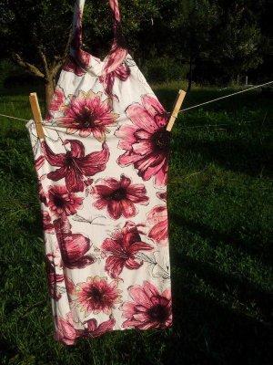 Neckholderkleid mit Blumenprint