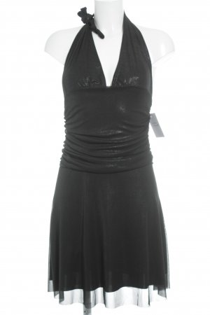 Halter Dress black shimmery