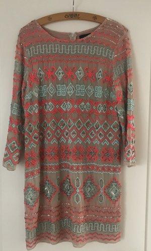 needle & thread Abito con paillettes multicolore