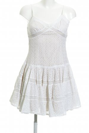 needle & thread Trägerkleid nude-weiß florales Muster Romantik-Look