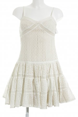 needle & thread Pinafore dress natural white-cream floral pattern Boho look