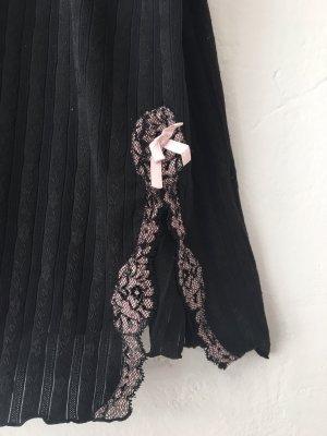 Passionata Négligé noir-vieux rose