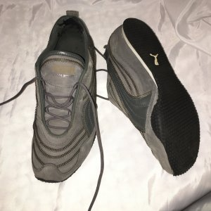 Neil Barrett Velcro Sneakers anthracite leather