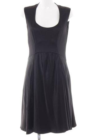 Neil Barrett A-Linien Kleid schwarz Elegant