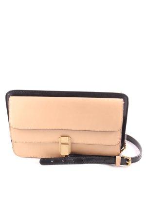 Neil Barrett Handtasche beige-schwarz Casual-Look