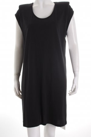 Neil Barrett Shirtkleid schwarz minimalistischer Stil