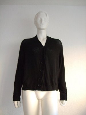 NELLY JOHANSSON Strick Jacke Cardigan Black New