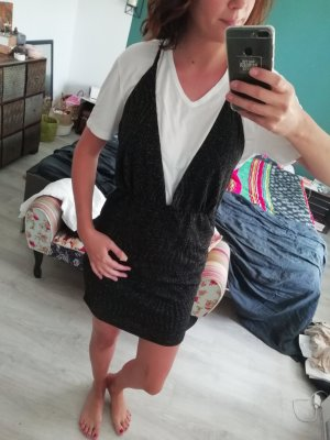 Nelly NLY Trend Kleid Minikleid Party Club Lurex Racerback Glitzrr
