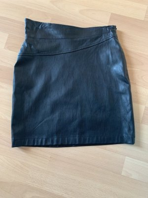 Nelly Trend Faux Leather Skirt black polyurethane