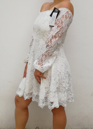 Nelly Lace Dress white