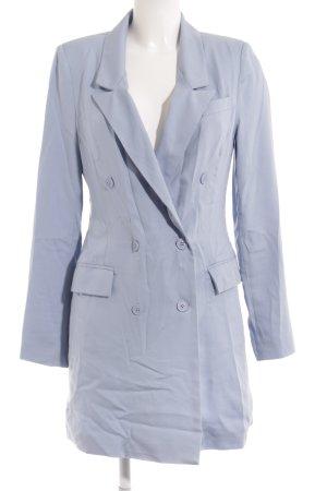 Nelly Trend Long-Blazer himmelblau Business-Look