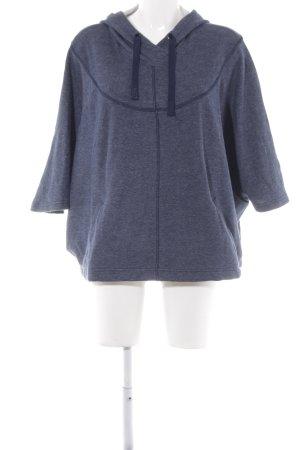 NEO Label Kapuzensweatshirt dunkelblau meliert Casual-Look