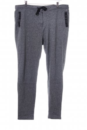 NEO Label Stoffhose meliert Casual-Look