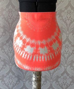 Neon Batik Tube-Skirt