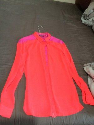 Tommy Hilfiger Camicetta a maniche lunghe arancio neon-viola