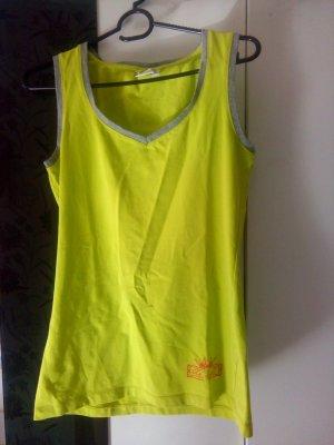 Basic Top neon yellow