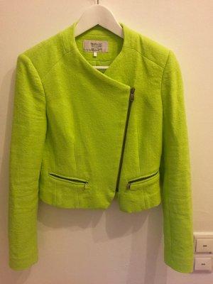 neon grüner Blazer von Zara Größe S