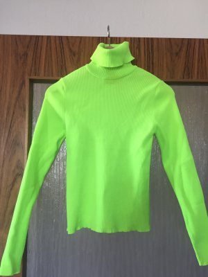 Neon Grüner Pullover