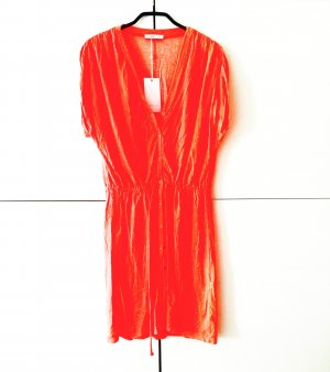 NEON kleid / orange vintage 90ies