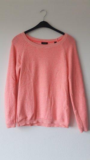 neon orange farbener Pullover. Nur wenige Male getragen, daher wie NEU
