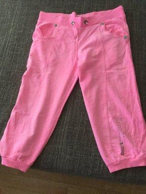 Neon/rosa 7/8 Jogginghose fast neu, 1 mal tragen