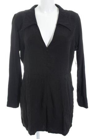 Neon Rose Jumpsuit schwarz klassischer Stil