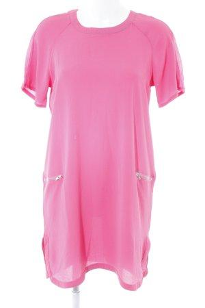 Neon Rose Tunikakleid pink Beach-Look
