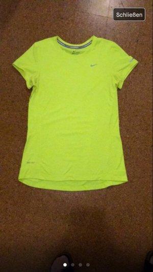 Neon running shirt nike