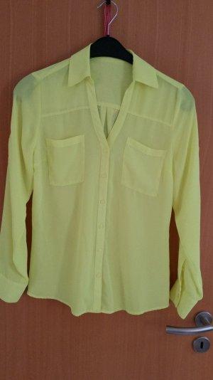 Neonfarbene Bluse Gr. 36/38