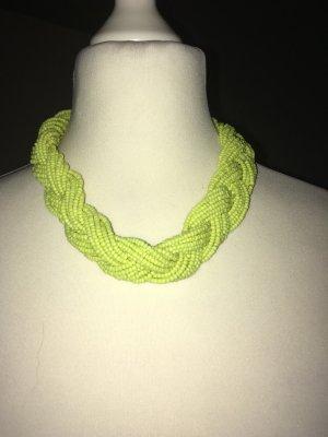 Collana giallo neon