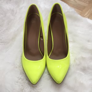 Pimkie Pointed Toe Pumps neon yellow