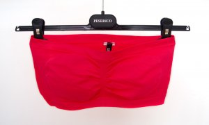 Colloseum Bandeau Top neon red-neon orange synthetic fibre