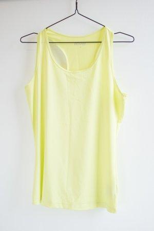 Neonfarbenes Gelbes Tanktop