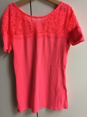 Neonfarbenes Pinkes Shirt