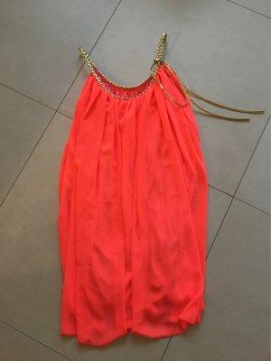 Neonfarbenes Strandkleid