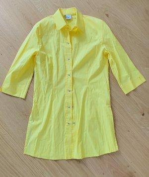 Nienhaus Abito blusa camicia giallo neon Cotone