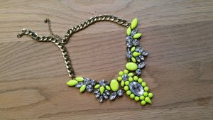 Statement Necklace neon yellow
