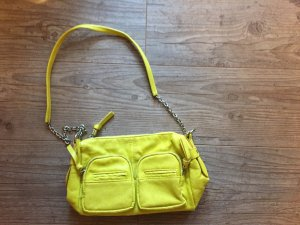 neongelbe Tasche