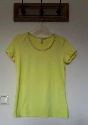 H&M Camiseta amarillo-amarillo neón